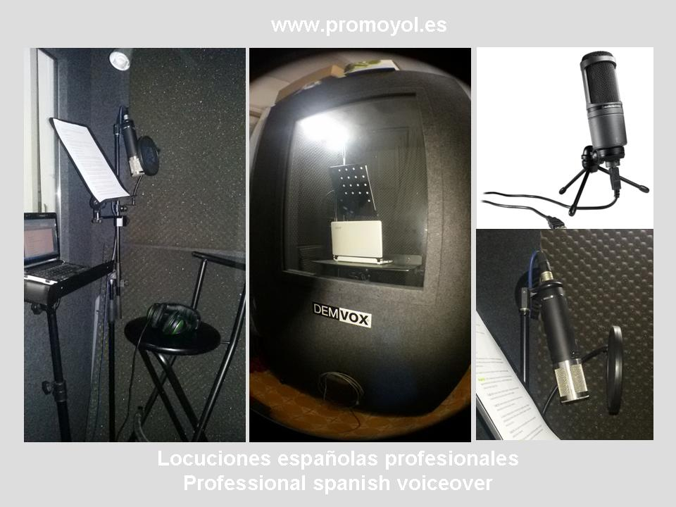 promoyol studio spanish voiceover